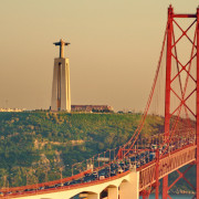 Lisbon Christ and Bridge