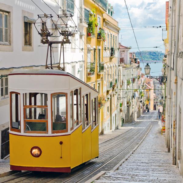 Lisbon Bica Funicular Tram