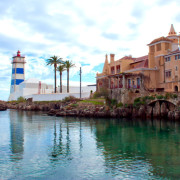 Cascais Bay and Lighthouse