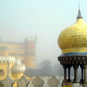 Sintra Pena Palace Fog