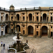 Tomar Christ Convent Courtyard