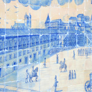 Azulejo Museum Tile Panel