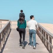 Praia da Lagoa de Albufeira - Couple