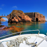 Berlenga Island St. John Baptist Fort and bridge