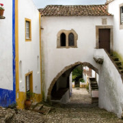 Óbidos Cobble Winding Streets