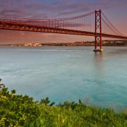 Lisbon 25th April Bridge